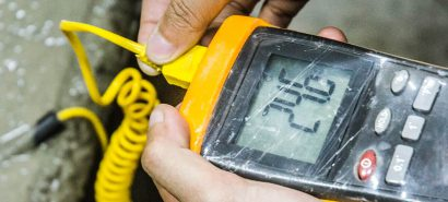 IoT Enabled Concrete Temperature & Strength Measurement Software