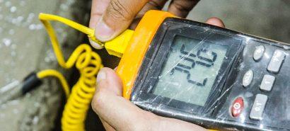 IoT Enabled Concrete Temperature & Strength Measurement Software