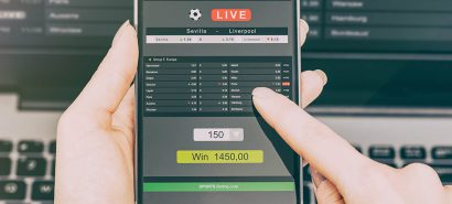 Web App for Sport Betting Platform
